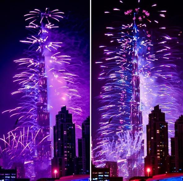 Burj Khalifa   Photo: IG @poojith