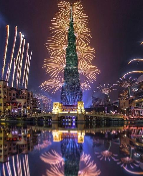 Burj Khalifa   Photo: IG @s_9hn