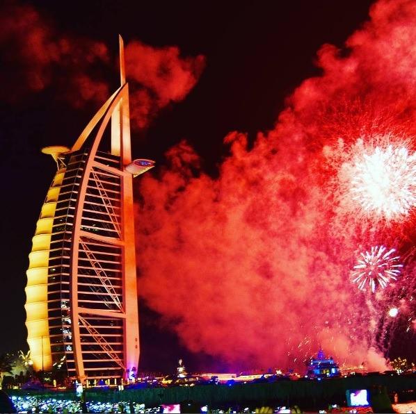 Burj Al Arab   Photo: IG @ameerasophia