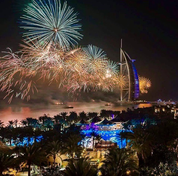 Burj Al Arab   Photo: IG @michelleannhaugo
