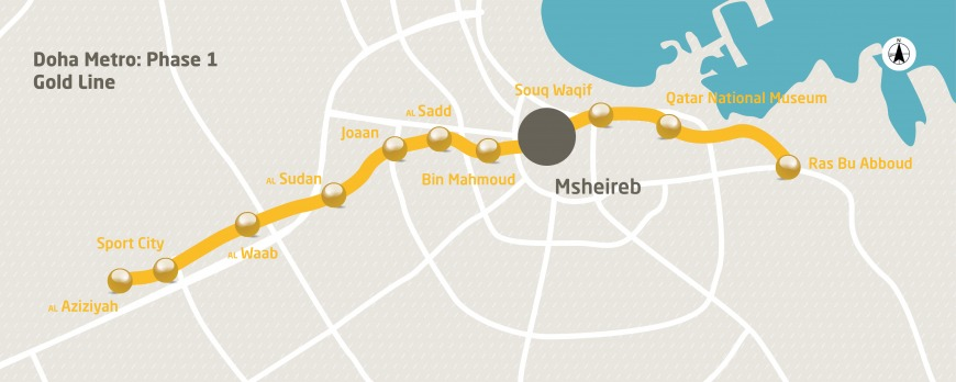 Doha Metro Tracks Expected To Be Completed This Year Expatwoman Com