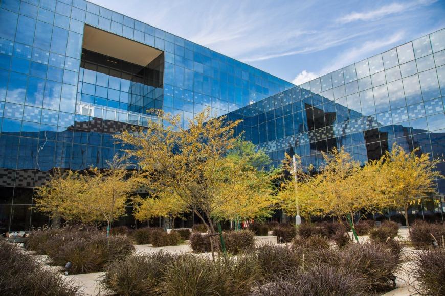 Northwestern University in Qatar's new building is a