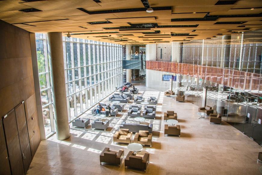Northwestern University in Qatar's new building.