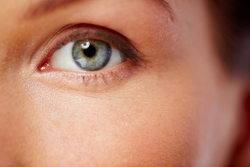 The part that gives us our eye colour is the iris