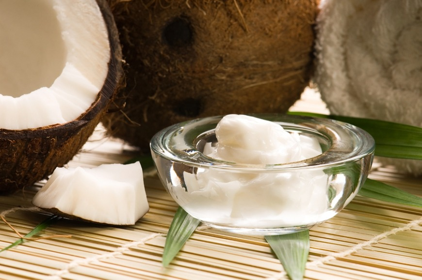 Coconut oil is great for your skin