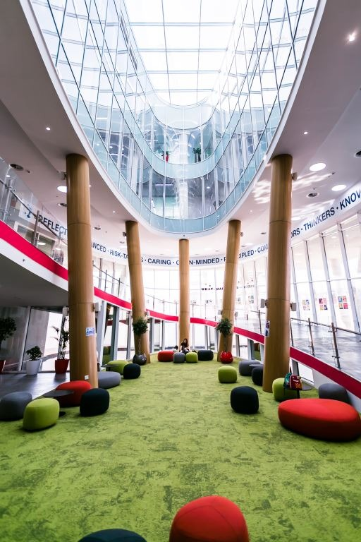 Stunning architecture for an enjoyable learning environment