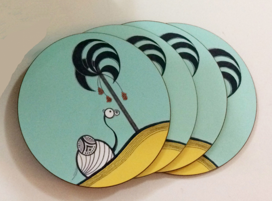2. Camel Coasters from Zebratini