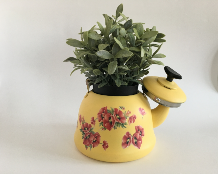 4. Decorated Teapot from Decomaj