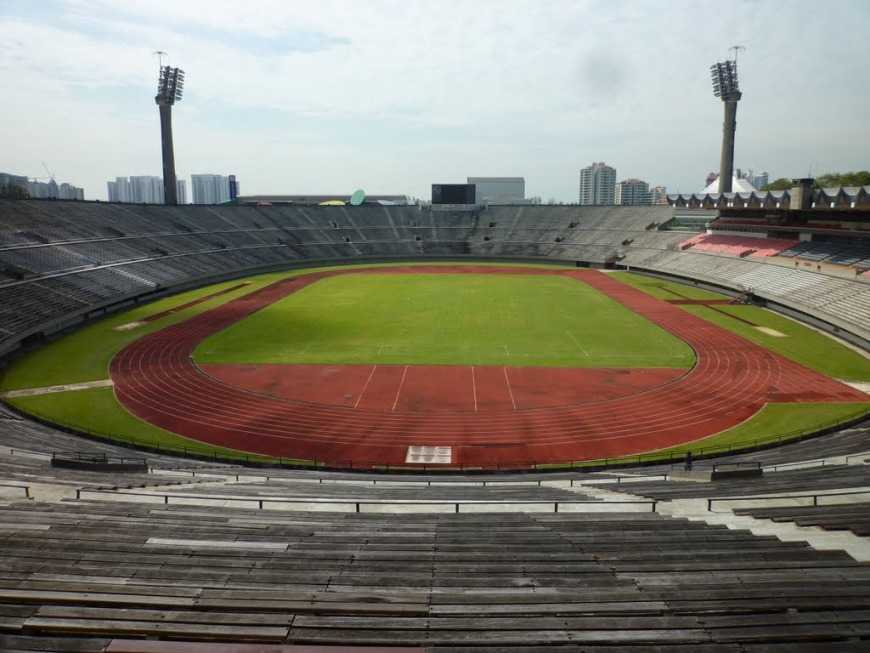 Then: National Stadium | Photo: Yu Khing Poh