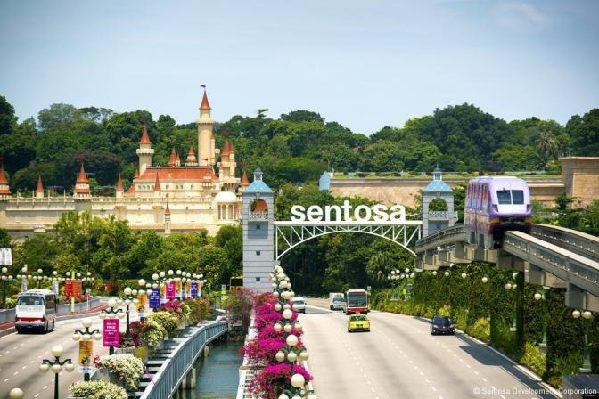 Now: Sentosa | Photo: thefinder.com.sg