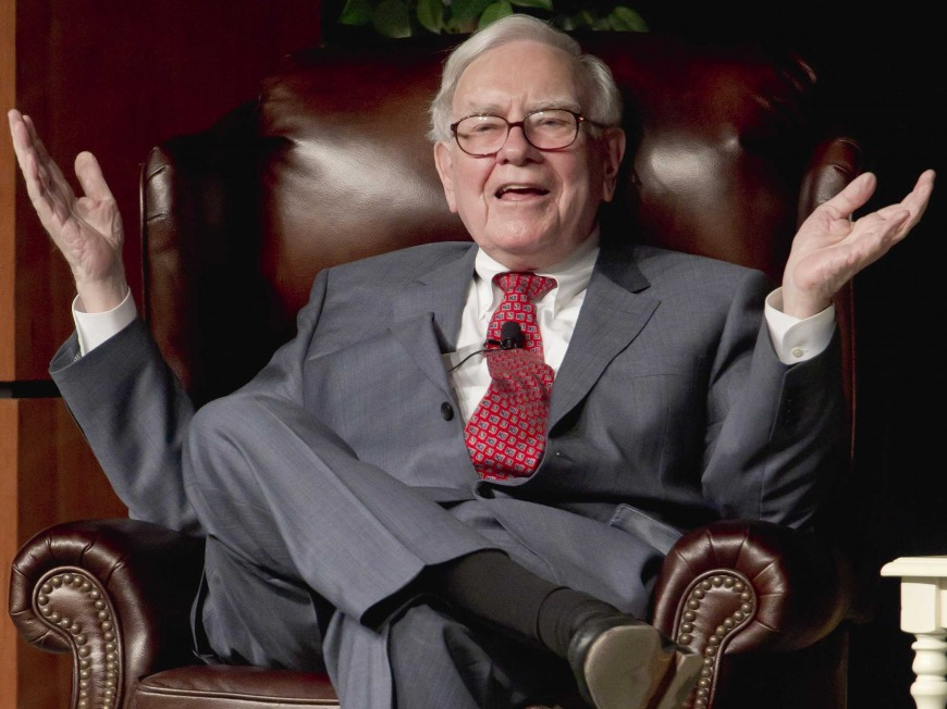 3. Warren Buffett: Be humble and have restraint