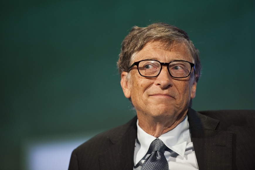 4. Bill Gates: Be open-minded