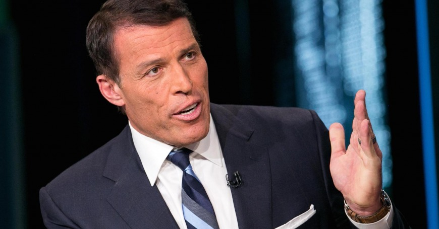 5. Tony Robbins: Learn new skills