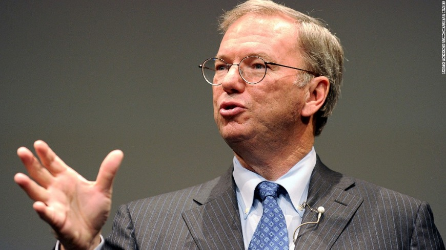 7. Eric Schmidt: Say yes more