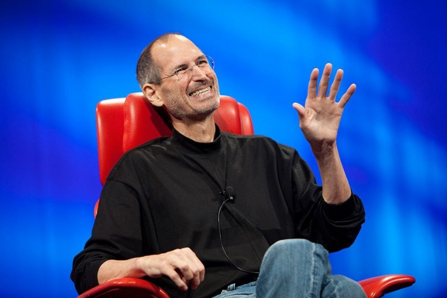 8. Steve Jobs: Go after something larger than yourself