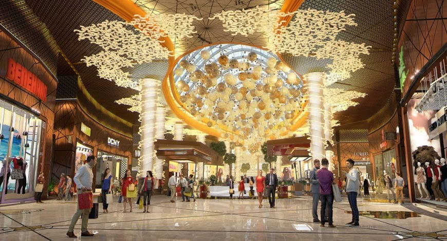Main entrance | Image: citylandmall.com