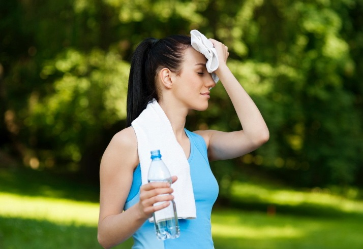 3. Regular exercise and hydration