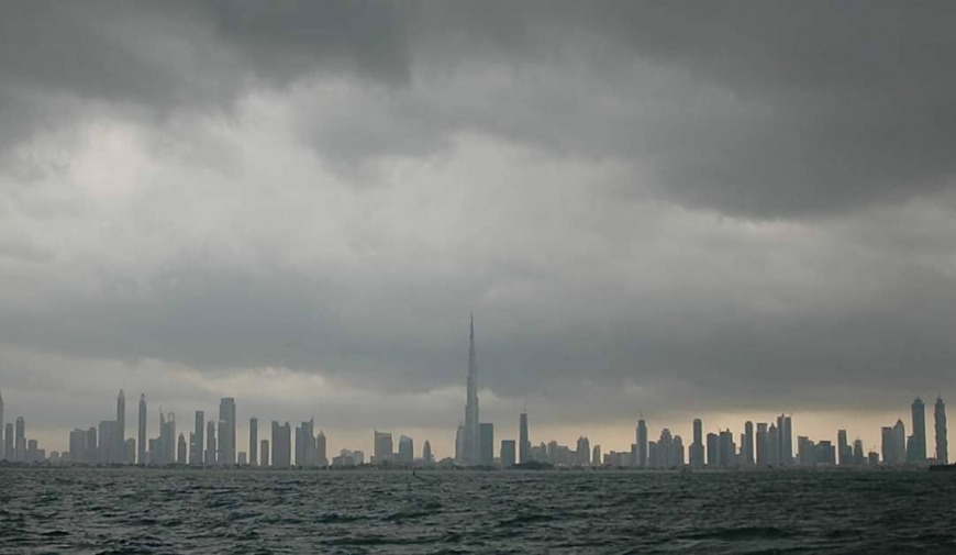 Dubai rain storm during Eid break