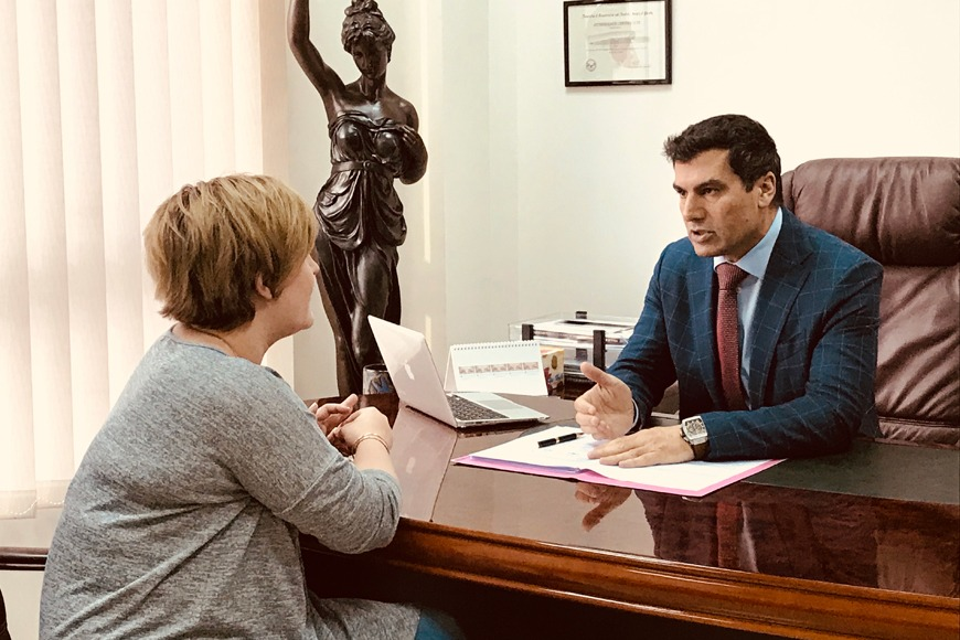 Consultation with Dr. Allen Rezai