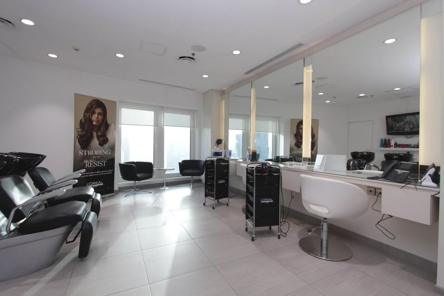 LA Salon, Guerlain Spa, Qatar