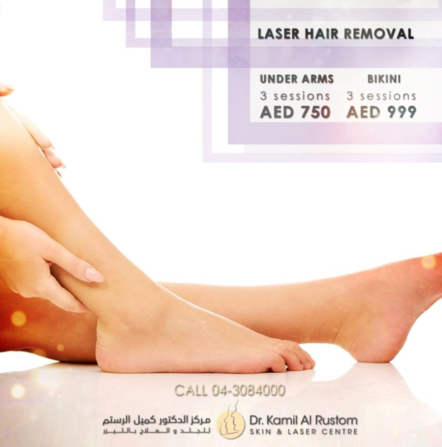 Laser hair removal offers in Dubai