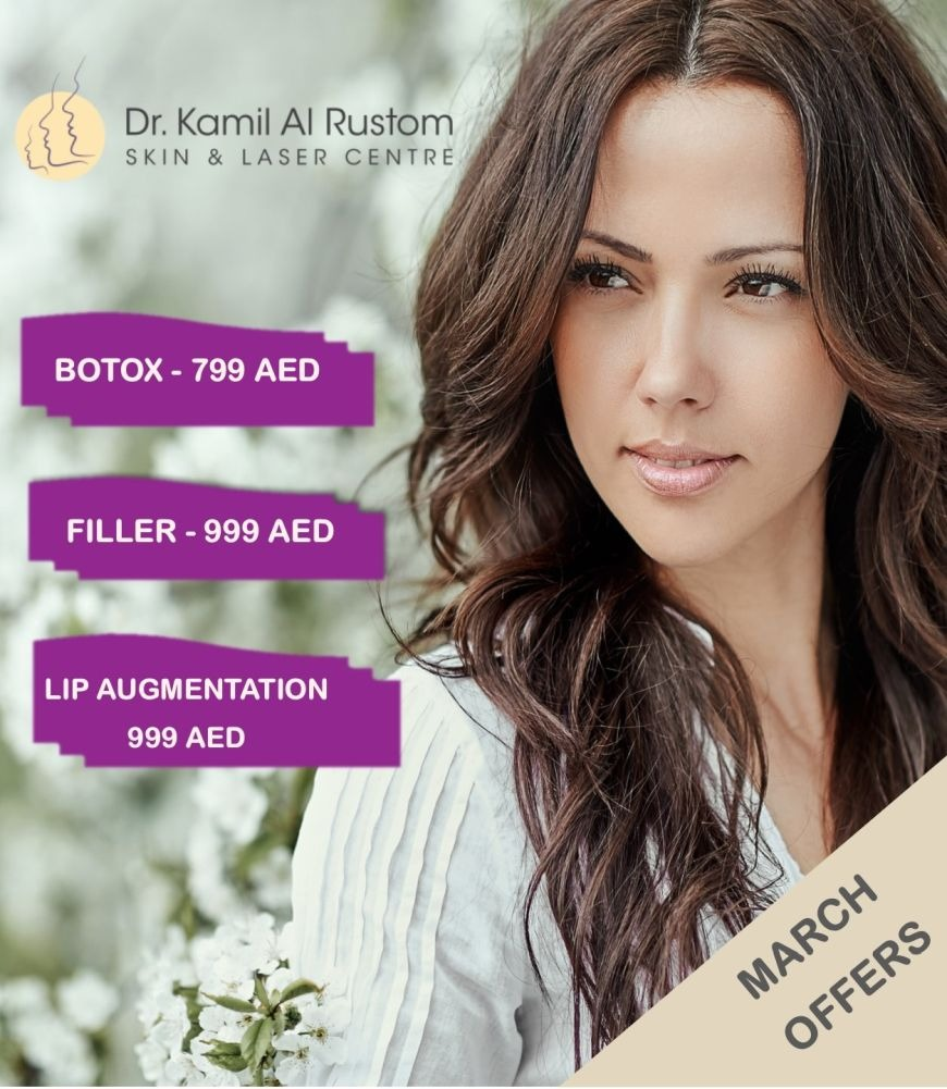 Dr. Kamil Al Rustom March Offers