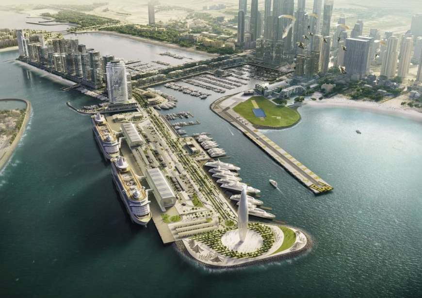 Dubai Harbour by Meraas in Dubai, UAE