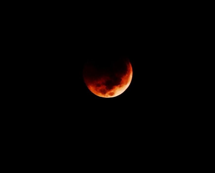 Dubai Lunar Eclipse 2018