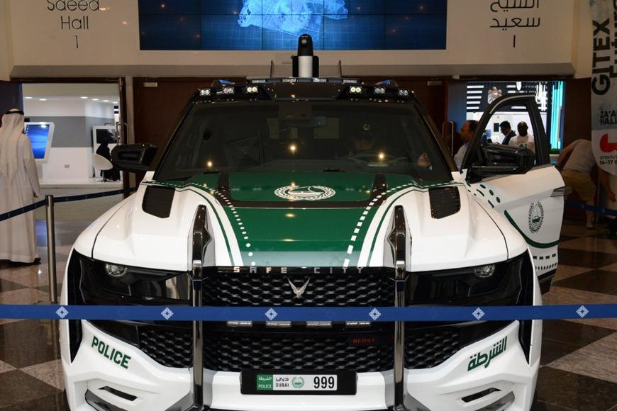 Dubai Police new Beast Patrol