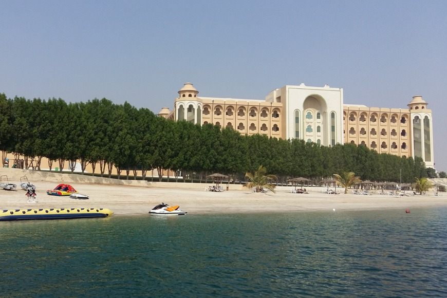 The best beaches in Dubai to visit - Ghantoot Beach in UAE