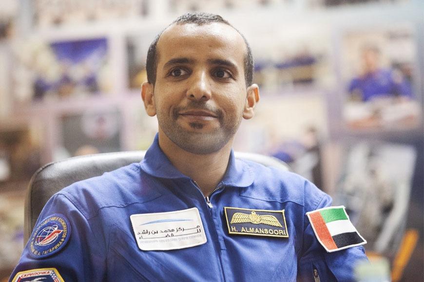 First Emirati astronaut Hazzaa AlMansoori