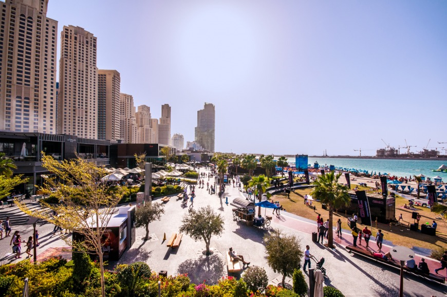The best beaches in Dubai to visit - The Beach at JBR