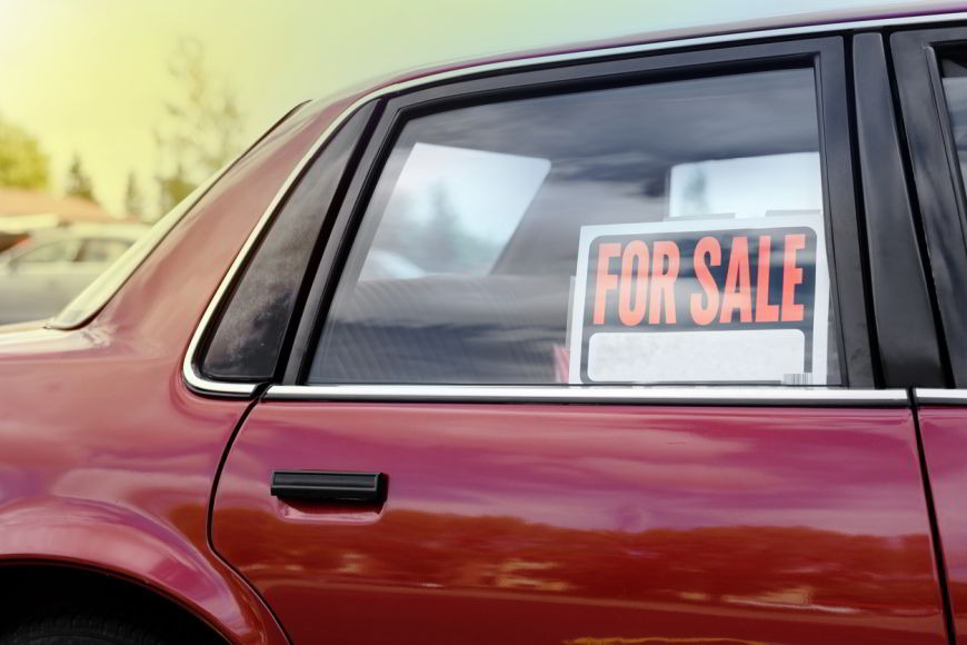 Sell your car before you leave the country