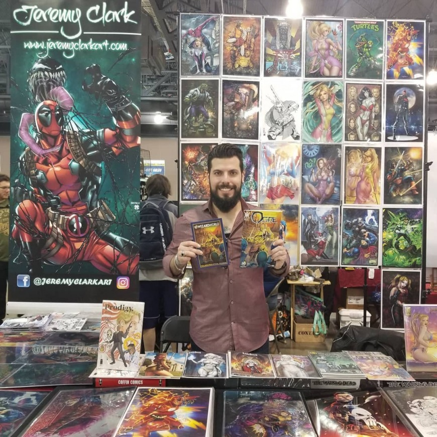 Middle East Film and Comic Con Jeremy Clark