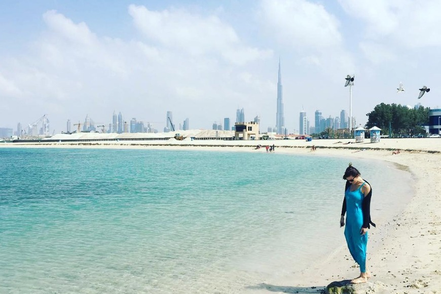 The best beaches in Dubai to visit - Jumeirah Beach Park top Dubai beach