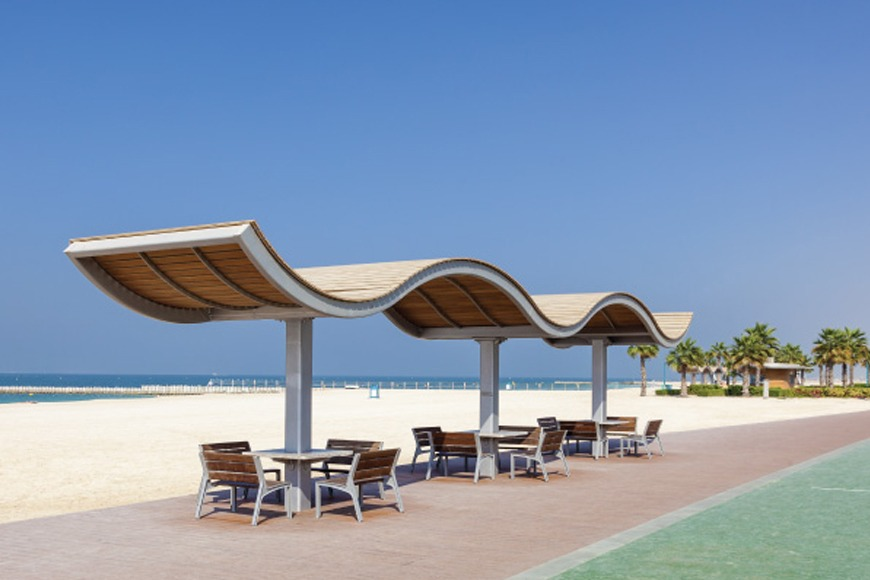 The best beaches in Dubai to visit - Jumeirah Open Beach best Dubai beach