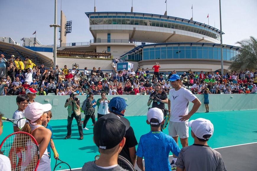 This is Your Chance to Play 1 on 1 With the World's Best Tennis Stars