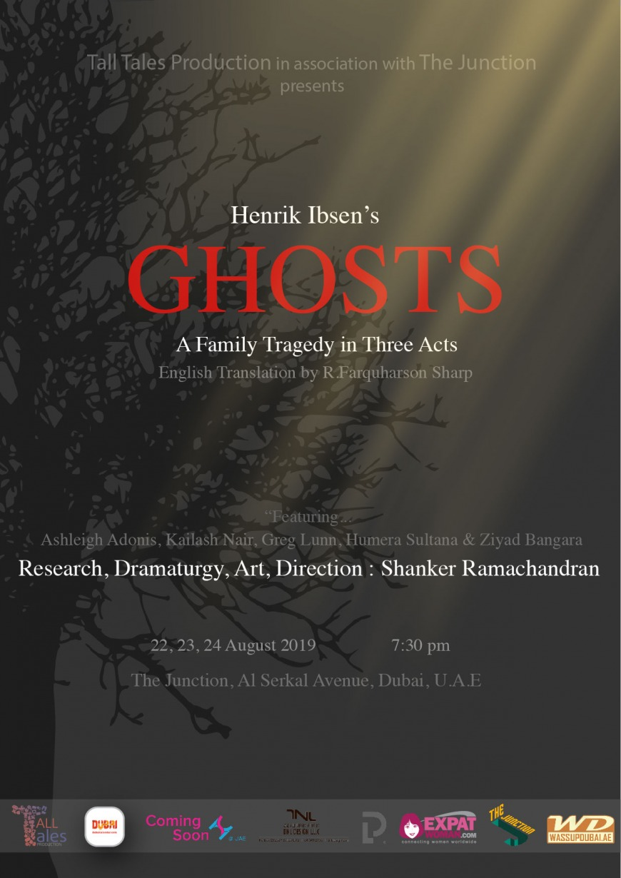 Ibsen's 'Ghosts' to question everything!