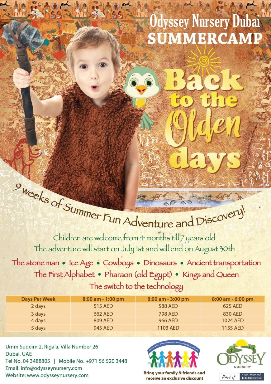 A Summer to Remember at Odyssey Nursery Dubai