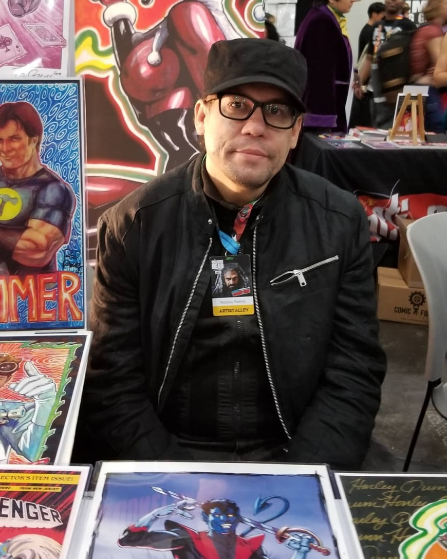 Middle East Comic Con Rodney Ramos