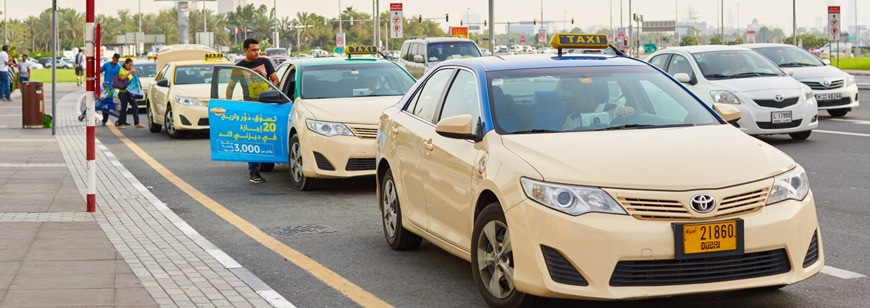 Dubai RTA National Taxis to have surveillance cameras installed