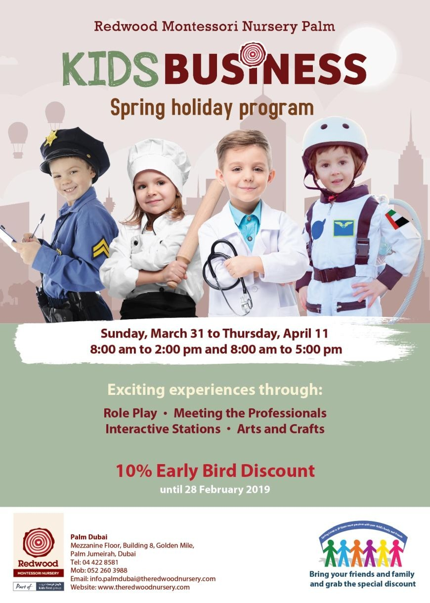 Spring Camps in Dubai 2019