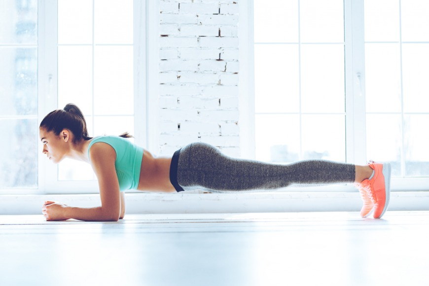 How to do the plank