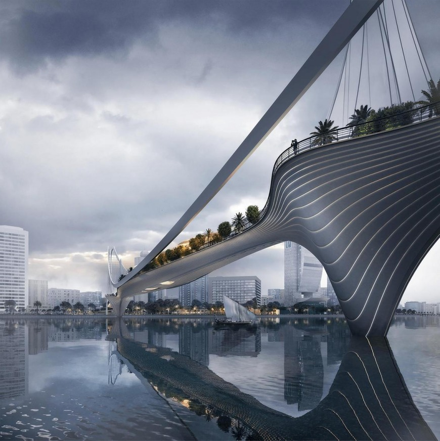 Here's a Sneak Peek Into the Upcoming Dubai Sky Garden Bridge