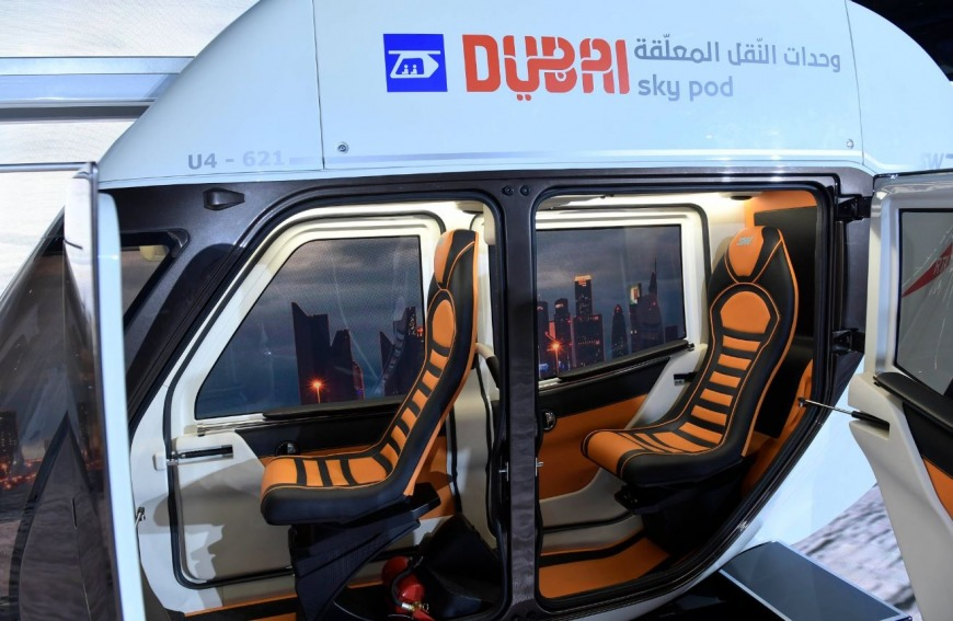 Dubai Sky Pods by RTA
