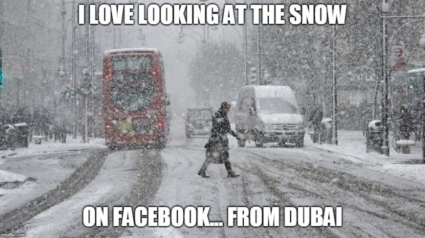 Snow in the UK
