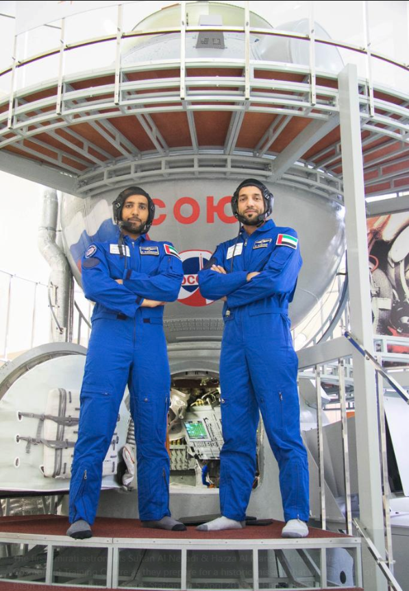 Emirati Astronauts (Source: Dubai Media Office)