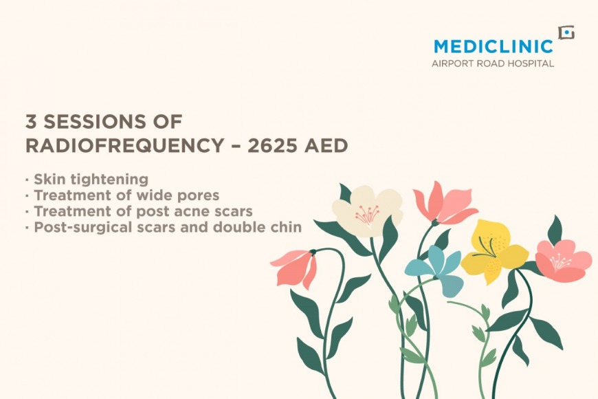 Mediclinic Airport Road Hospital radiofrequency offers