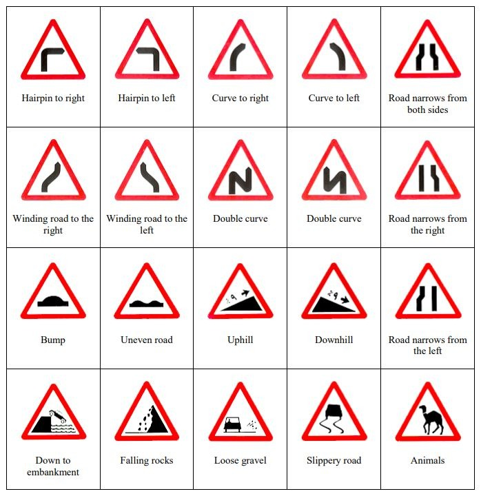 A Guide to Road Signs In Saudi Arabia | ExpatWoman com
