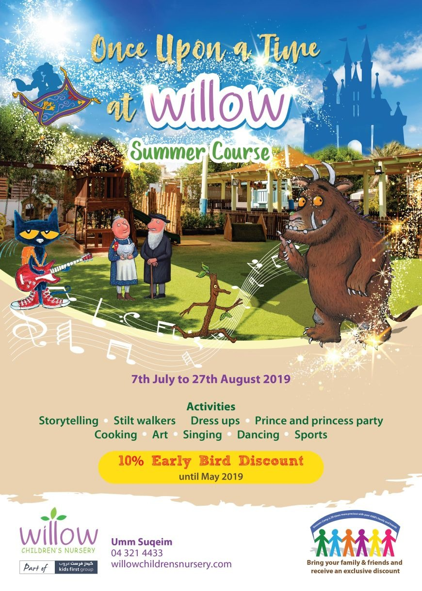 Once upon a time summer camp at Willow Children's Nursery Umm Suqiem Branch